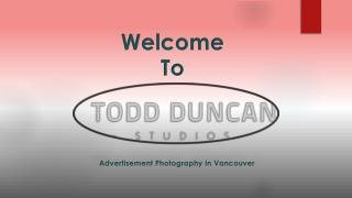 Advertisement Photography Vancouver