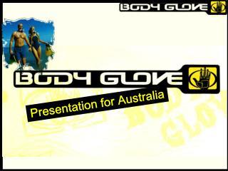 Presentation for Australia