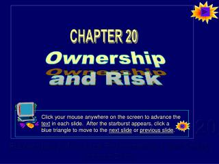 Ownership and Risk