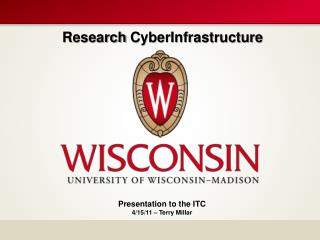 Research  CyberInfrastructure