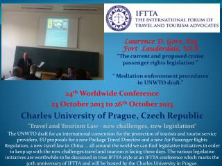 24 th  Worldwide Conference 23 October 2013 to 26 th O ctober 2013