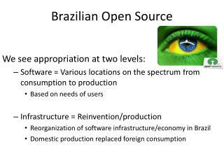 Brazilian Open Source