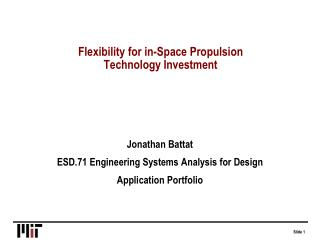 Flexibility for in-Space Propulsion Technology Investment