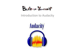 Introduction to Audacity