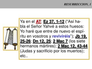 RESURRECCION, 1