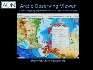 Arctic Observing  Viewer