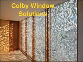 Get Professional Window Services at Colby Window Solutions.