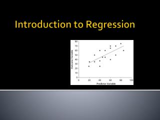 Introduction  to Regression
