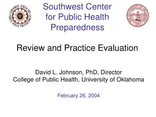 Southwest Center for Public Health Preparedness