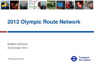 2012 Olympic Route Network