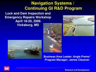 Navigation Systems / Continuing GI R&D Program