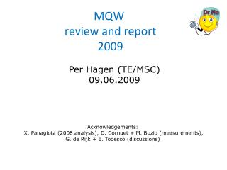 MQW  review and report  2009