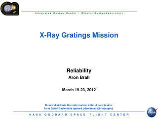 X-Ray Gratings Mission