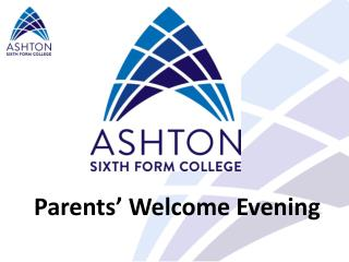 Parents' Welcome Evening