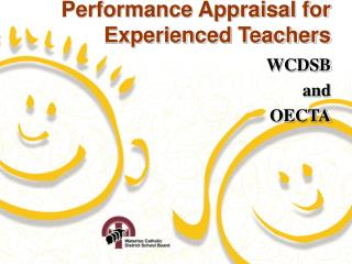 Performance Appraisal for Experienced Teachers