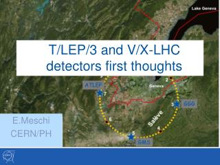 T/LEP/3 and V/X-LHC detectors first thoughts