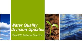 Water Quality Division Updates