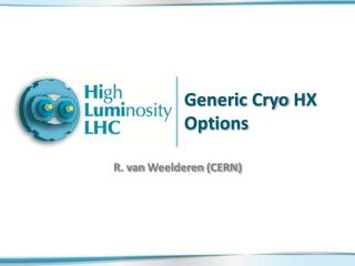 Generic  Cryo  HX Options