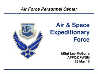 Air & Space Expeditionary Force