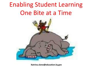 Enabling Student Learning One Bite at a Time