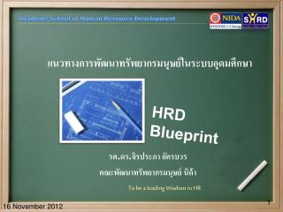 HRD Blueprint