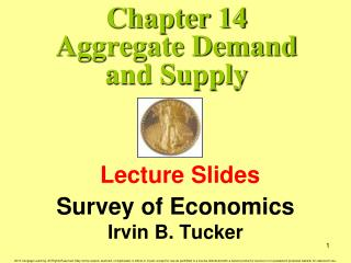 Chapter 14 Aggregate Demand and Supply