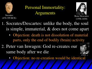 Personal Immortality: Arguments