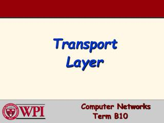 T ransport Layer