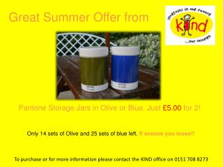 Great Summer Offer from