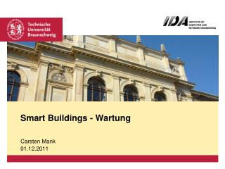 Smart Buildings -  Wartung