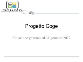 Progetto Coge