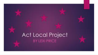 Act  Local Project