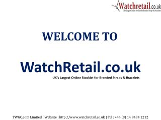 Buy Online Watch accessories in UK