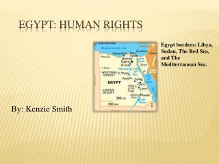 Egypt: Human Rights