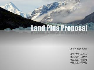 Land Plus Proposal