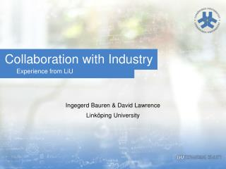 Collaboration with  Industry