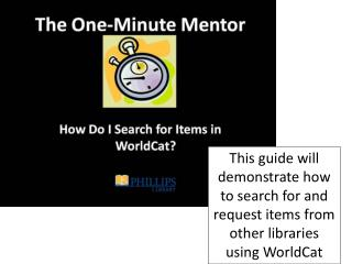 "From  the library home page, select the link ""Find Books/Media"" from the left side of the page."