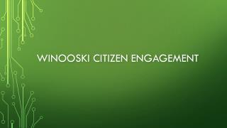 Winooski citizen engagement