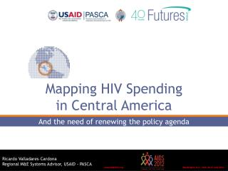 Mapping HIV Spending  in Central America