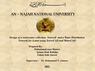 AN  – Najah  National University