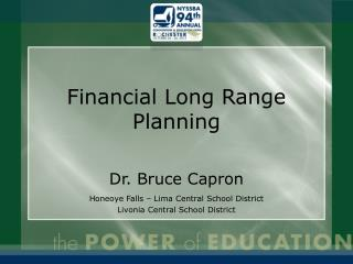 Financial Long Range Planning