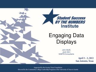 Engaging Data Displays