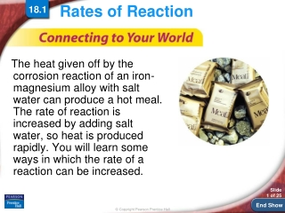 Reaction Rates Notes