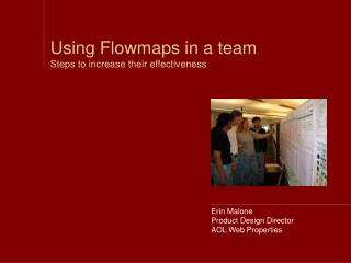 Using Flowmaps in a team Steps to increase their effectiveness