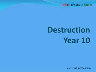 Destruction Year 10