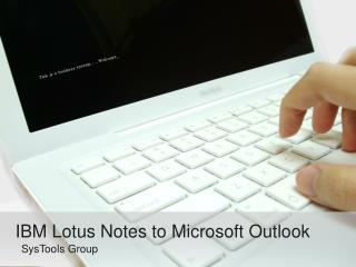Complete Lotus Notes to Outlook Migration Tool