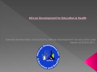 African Development for Education & Health