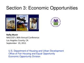 Section 3: Economic Opportunities