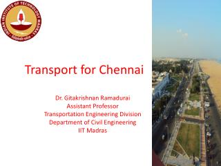 Transport for Chennai