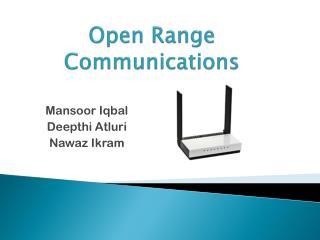 Open Range Communications